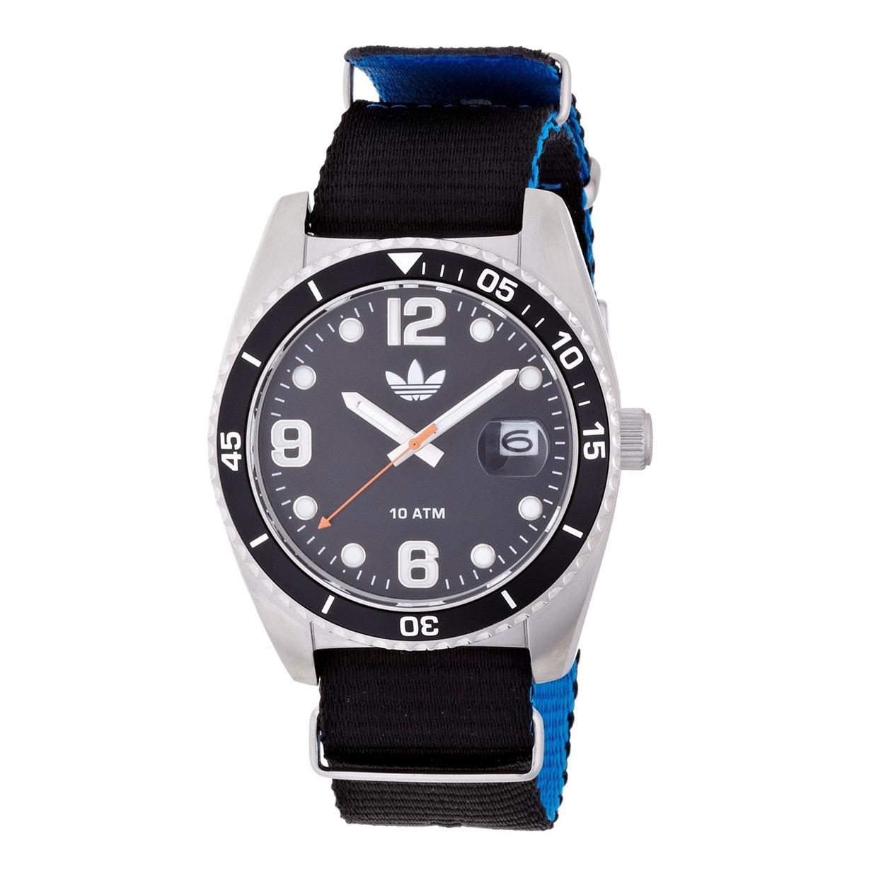 Adidas Men's ADH2866 Brisbane Watch, Black, Size One Size...