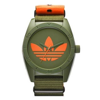 Adidas Men's ADH2876 Santiago Ion Plated Steel Green Watch|https://ak1.ostkcdn.com/images/products/9914849/P17072627.jpg?impolicy=medium
