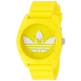 Adidas Unisex ADH6174 Santiago Yellow Watch|https://ak1.ostkcdn.com/images/products/9914883/P17072692.jpg?impolicy=medium