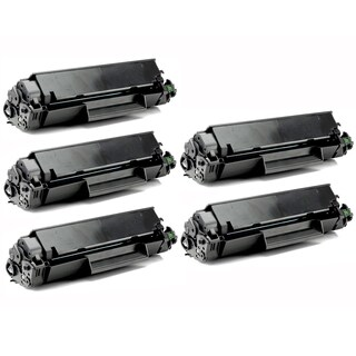 Remanufactured Compatible Canon 137 High Yield Black Toner Cartridges (Pack of 5)