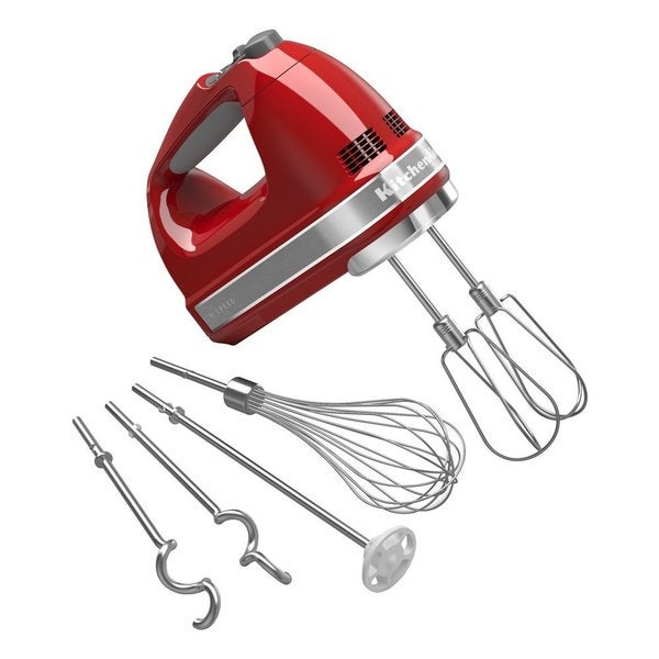 Kitchenaid khm926er empire red 9 speed hand mixer free for Kitchenaid 0 finance