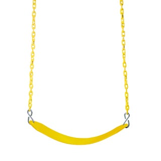 Gorilla Playsets Deluxe Swing Belt (Option: Yellow)