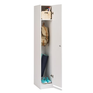 Prepac Winslow White Single Tier Locker