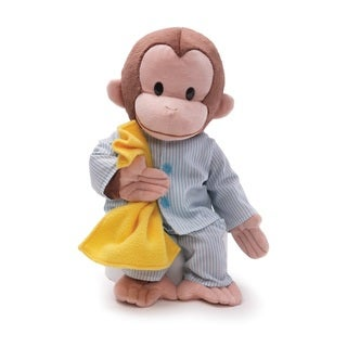 Gund Curious George in Pajamas Stuffed Animal