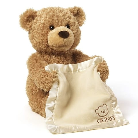 Gund Peek-A-Boo Teddy Bear Animated Stuffed Animal
