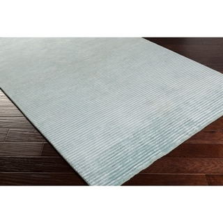Hand-Knotted Zachary Solid Indoor Rug (8' x 11')