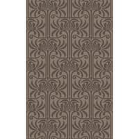 Hand-Tufted Lifeson Floral New Zealand Wool Area Rug - 8' X 11'