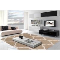 """Hand-Tufted Hubert Moroccan Trellis Indoor Area Rug - 3'3"""" x 5'3"""""""