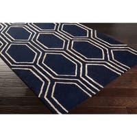 "Hand-Tufted Herman Geometric Indoor Area Rug - 3'3"" x 5'3"""