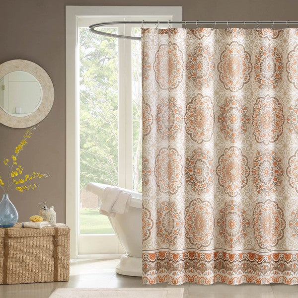 Madison Park Moraga Shower Curtain   Free Shipping On Orders Over $45    Overstock.com   17073213