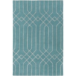 Hand-Tufted Howard Geometric Indoor Area Rug - 8' x 10'