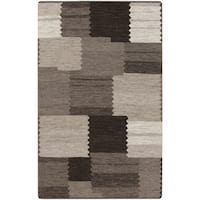Hand-Woven Guy Nature Reversible Area Rug (5' x 8')