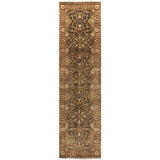 Hand-Knotted Lena Floral New Zealand Wool Rug (2'6 x 10')