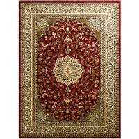 LYKE Home McKayla Red Area Rug - 5' x 8'