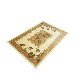 LYKE Home Rosa Cream Area Rug (4' x 6')