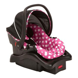 Cosco Light 'N Comfy Luxe Infant Car Seat in Minnie Dot