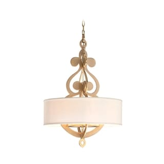 Corbett Lighting Olivia 8-light Satin Large Pendant