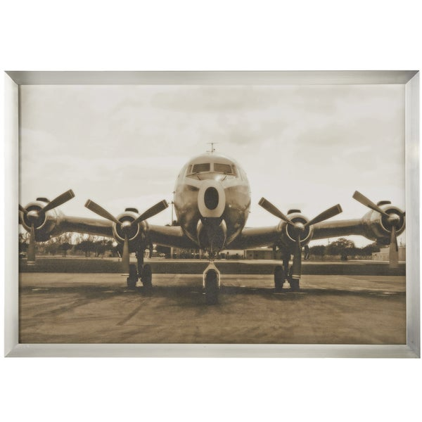 Shop Vintage Airplane Framed Wall Art Print Free