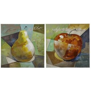 Cooper Classics 'Fruit I' Hand-painted Canvas Art