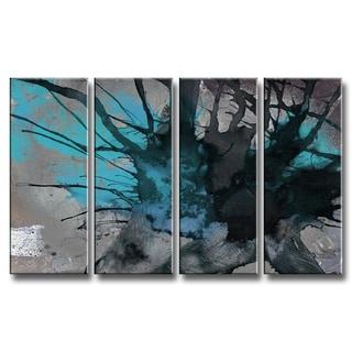Ready2HangArt 'Inkd XIII' 4-piece Canvas Art Set