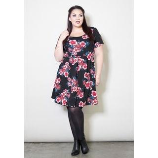 Sealed with a Kiss Women's Plus Size 'Rhiannon' Dress