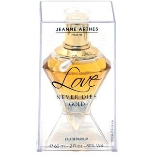 Jeanne Arthes Love Never Dies Gold Women's 2-ounce Eau de Parfume Spray