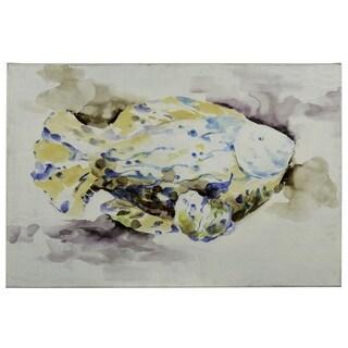 Cooper Classics 'Fish II' Canvas Wall Art