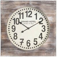 The Gray Barn Jartop Oversized Numerals Wall Clock