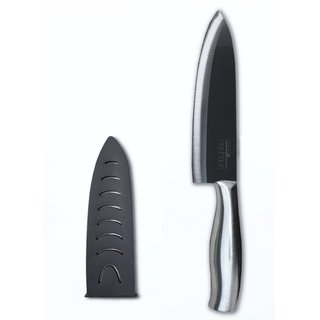 Casa Neuhaus 7-inch Black Ceramic Chef Knife