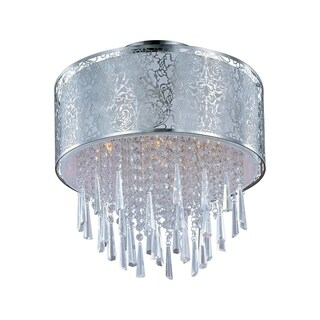 Maxim Rapture 5-light Nickel Semi-flush Mount