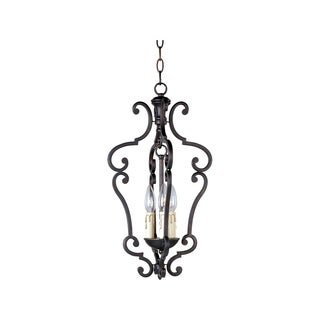 Maxim Richmond Steel 3-light Entry Foyer Pendant