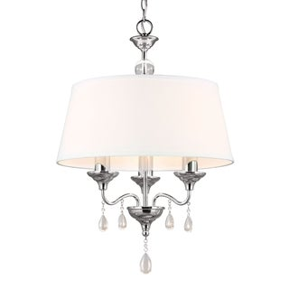 West Town 3-light 20-inch Chrome Chandelier
