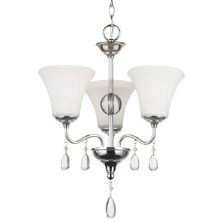 West Town 3-light Chrome Chandelier