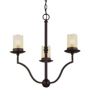 Trempealeau 3-light Roman Bronze Chandelier