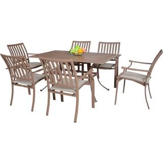 panama jack island breeze 7piece slatted dining group
