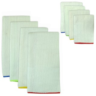Primary Trim Microfiber Towel and Cloth Set