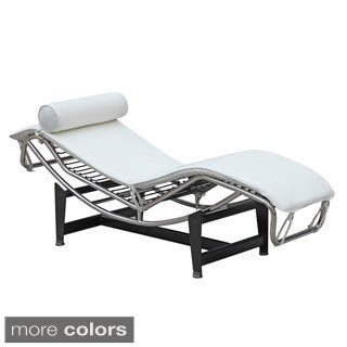Adjustable black leather chaise lounge 10459941 for Chaise lounge black friday sale