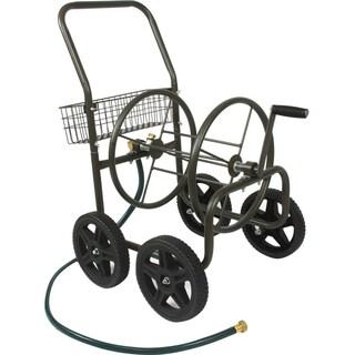 Liberty Garden 871-S Four Wheel Hose Cart with Flat-Free Tires