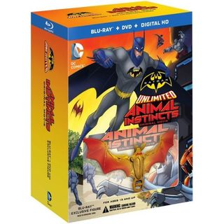 Batman Unlimited: Animal Instincts w/ Action Figure (Blu-ray/DVD)
