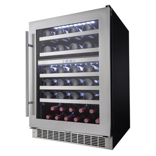 Danby Silhouette Professional Series- 24 Inch Stainless Steel Integrated Wine Cooler