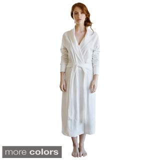 Organic Cotton Velour Bathrobe