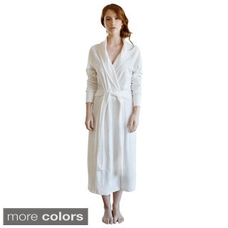 Cotton Velour Bathrobe