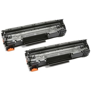 Pack of 2 Canon 137 High-yield Black Toner Cartridges (Refurbished)