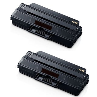 MLT-D115L Black Toner Cartridge for Samsung SL-M2820DW and SL-M2870FW Printers (Pack of 2)
