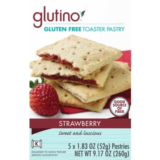 Glutino Gluten-free Strawberrty Toaster Pastries (2 Pack)