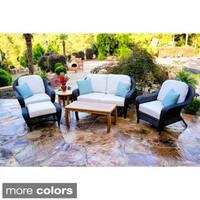 Richmond 6-piece Rectangle Table/ Loveseat/ Club Chair Set