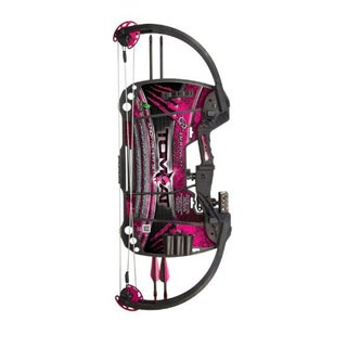 Barnett Tomcat Archery Youth RH Compound Bow - Pink