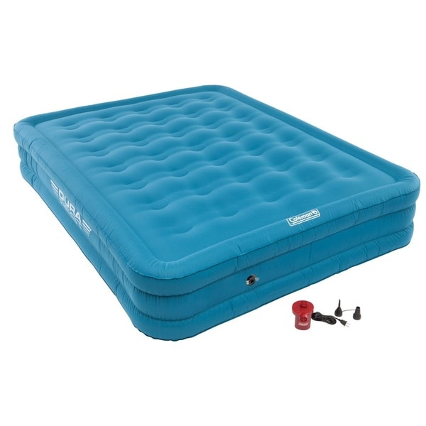 Coleman Durarest Plus Double High Airbed with 120V Pump