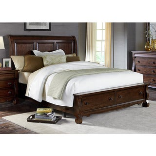 Liberty Rustic Russet Storage Sleigh Bed