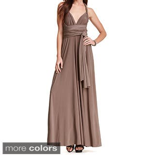 Women's Long Maxi Dress Convertible Wrap Cocktail Gown Bridesmaid Multi Way Dresses One Size Fits 0-12|https://ak1.ostkcdn.com/images/products/9918047/P17075402.jpg?impolicy=medium